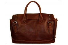 Sac 24h cuir marron Virgile