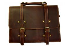 Cartable cuir marron Avocat