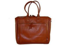 Sac à main cuir cognac Countess Day