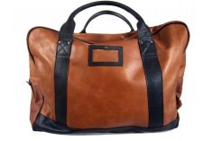Sac de voyage XXL cuir naturel Le Long Courrier