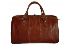 Sac weekend cuir marron Vienna