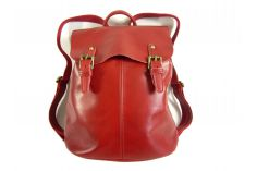 Sac a dos vintage rouge Summer