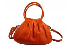 Petit sac bourse orange Oletta