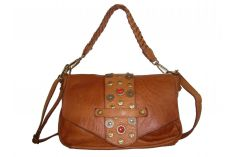 Sac a main original vintage naturel Paul