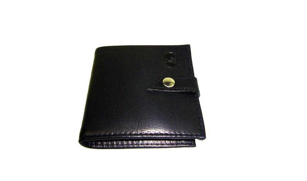 Mini Portemonnaie Cuir Noir Homme N Frandi Espritcuir - Porte feuille cuir homme