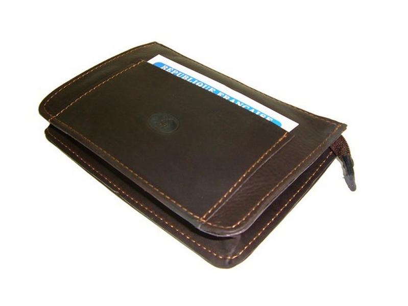 9c5aef843798 Pochette ceinture homme cuir brun made in France 5583B   Frandi