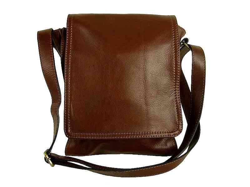 4a257e2b6021d Petit sac bandoulière cuir homme marron Parigi/Diva - Espritcuir