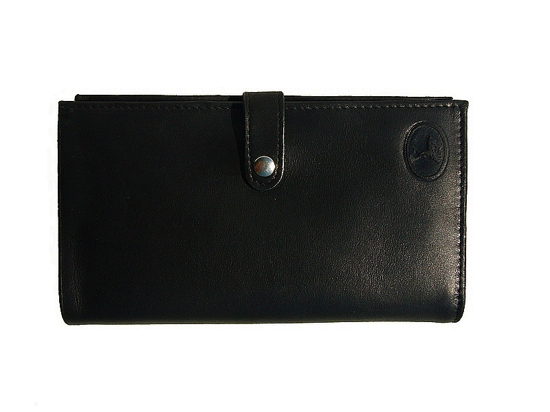169bfd8b3c56e Grand portefeuille femme 3 volets cuir noir 5463n/Frandi - Espritcuir