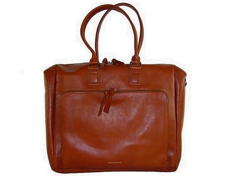 e174ae0df0 Grand sac à main cuir cognac femme Countess Bag | Royal Republiq