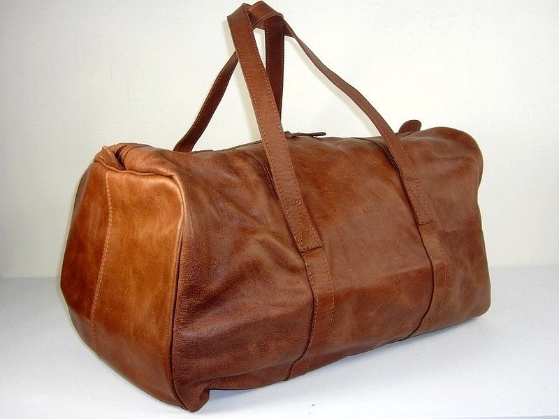 sac de voyage cuir naturel le cabine p marius espritcuir. Black Bedroom Furniture Sets. Home Design Ideas