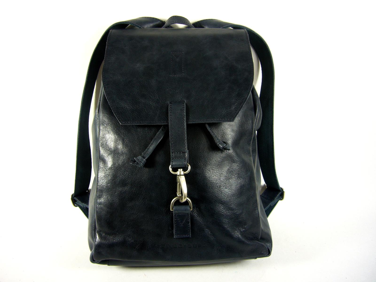 8b2f85ce0c Grand sac à dos homme cuir noir Tamarac/Cowboysbag - Espritcuir