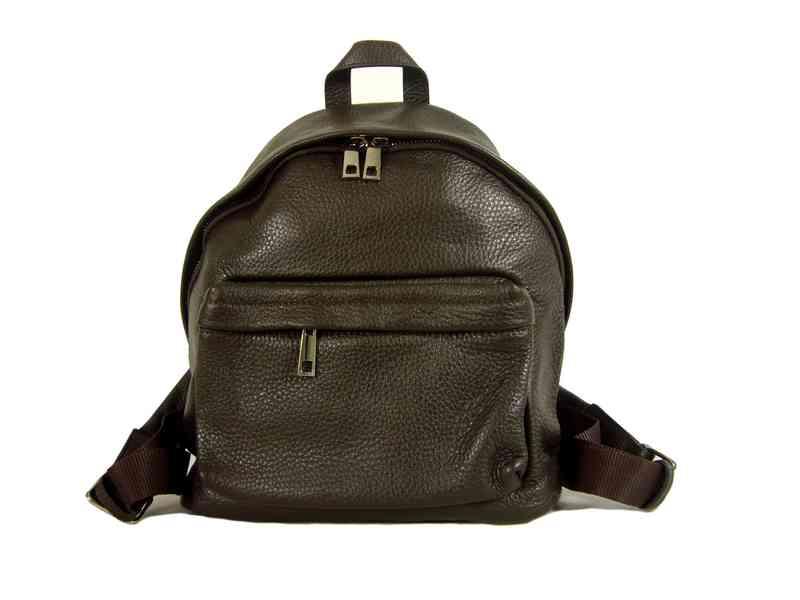 6408b7e394 Petit sac à dos femme pas cher cuir brun Zina/Diva - Espritcuir.com