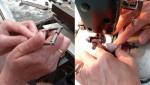 Fabrication de maroquinerie L'aiglon