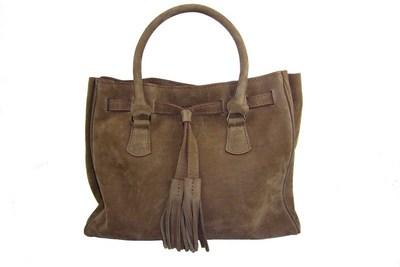 Nubuck ou daim d cryptage des sacs main effet velours - Comment nettoyer un sac en daim ...