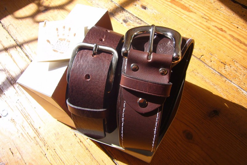 ceintures vintage en cuir