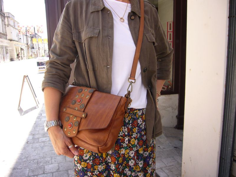 Sacoche femme avec bandoulière