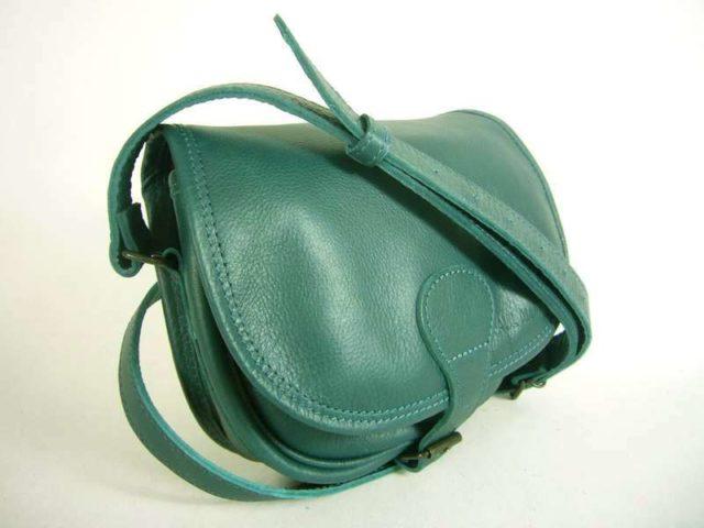 Petit sac a main bleu